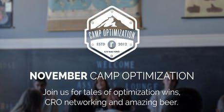November Camp Optimization Meet-Up tickets