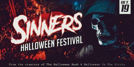 Sinners Halloween Festival 2019