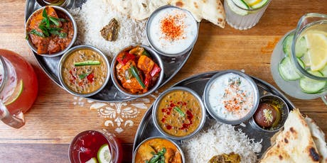 Two For One Thali - 'Cause It's Our Bday tickets