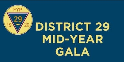 District 29 Mid Year Recognition Gala