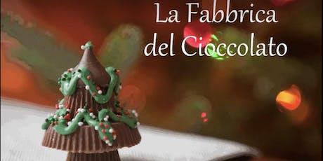 La fabbrica del cioccolato biglietti