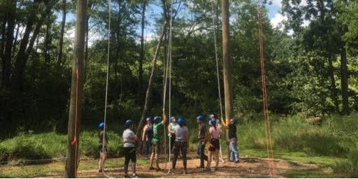SNA at the Ropes Course