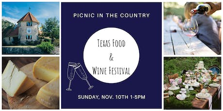 Texas Food & Wine Festival tickets