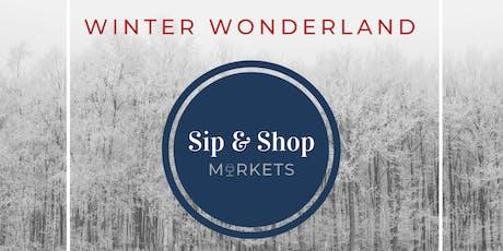 Winter Wonderland Sip & Shop Market tickets