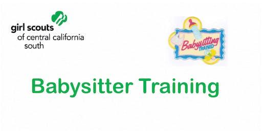 Babysitting Training  Cadette Badge - Hanford