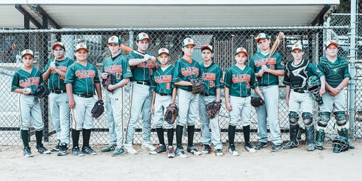 2019-20 12U Elkridge Hurricanes Green Cooperstown Bull Roast