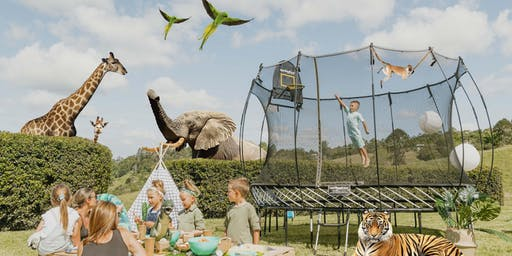 Springfree Trampoline brings the Jungle to Brisbane