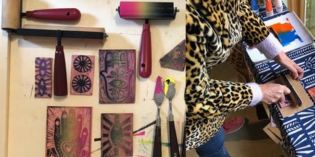 Relax, Renew, Create - Mindful Block Printing Workshop with The Onikas tickets