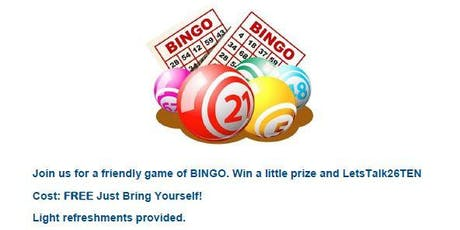 26TEN Bingo tickets