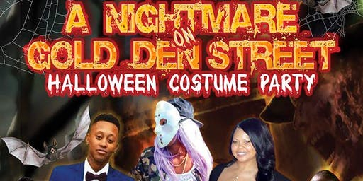 A Nightmare on Gold Den Street Halloween Costume Party