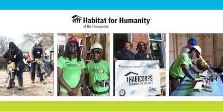 HabiCorps Workforce Development Program Kick Off & Groundbreaking! tickets
