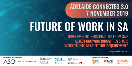 AdelaideConnected 3.0 tickets