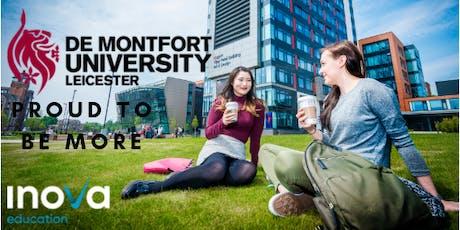 Estudia en De Montfort University en el Reino Unido entradas