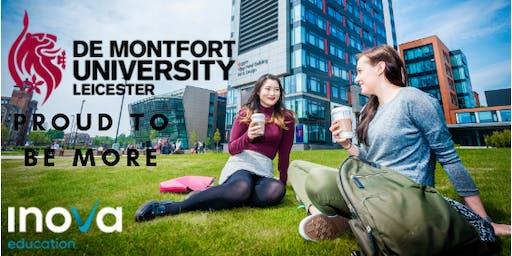 Estudia en De Montfort University en el Reino Unido