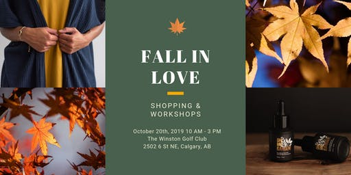 Fall in Love Shopping and Workshops