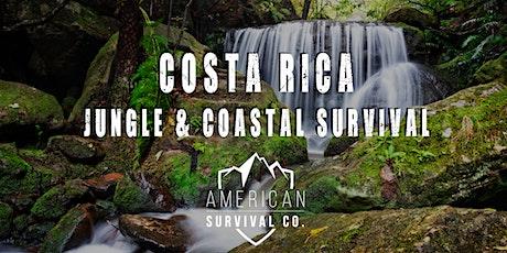 Costa Rica: Jungle and Coastal Survival entradas
