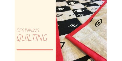 Beginning Quilting with Dana Miller (2019-11-17 starts at 9:00 AM)