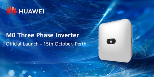 Huawei M0 Three Phase Inverter Launch
