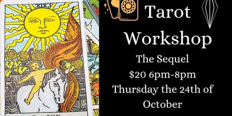 Tarot Workshop: The Sequel of The Fool's Journey tickets
