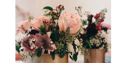Flower Arranging with Ida Blooms (2019-11-10 starts at 1:00 PM)