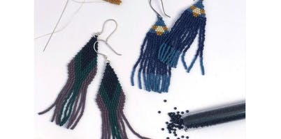 Beaded Woven Earrings with the Sugar Pond (2019-11-23 starts at 2:00 PM)
