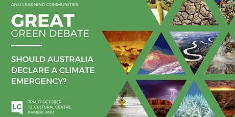 Great Green Debate tickets