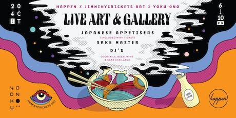 A night with JimminyCricketsArt x Yoku Ono tickets