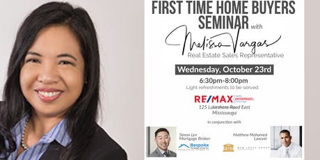 BACK AGAIN! First Time Home Buyer Seminar with Melissa, Simon & Matthew tickets