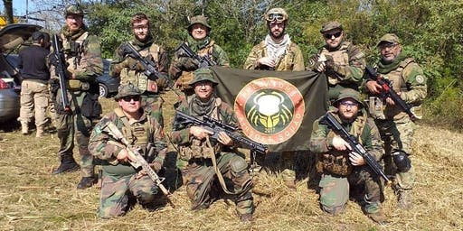 Aniversário da equipe Predators Airsoft Squad