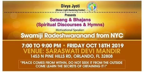 Spiritual Discourses tickets