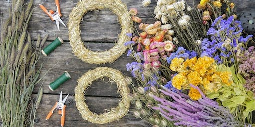 Dried Flower Wreath Workshop