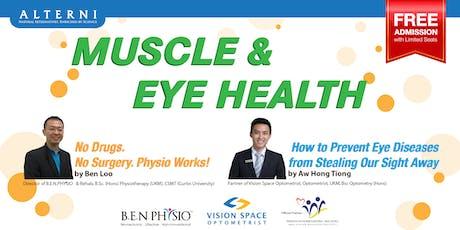 Muscle & Eye Health  tickets