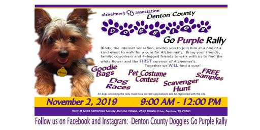 Doggies Go Purple Rally