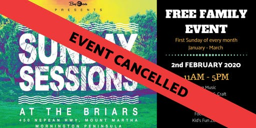 CANCELLED - Sunday Sessions at the Briars - February 2nd 2020