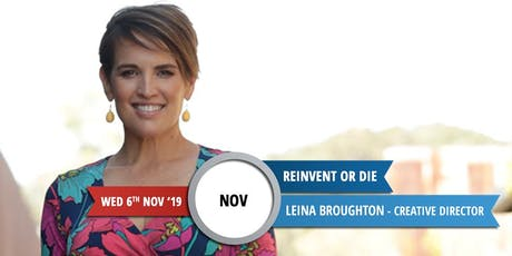REINVENT OR DIE - Networking Breakfast tickets