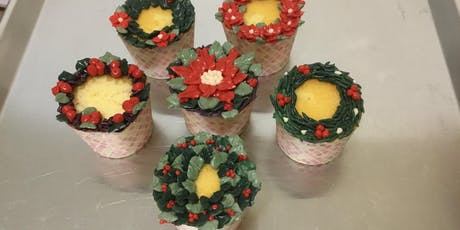 Cupcakes Decorating- Christmas Holiday Theme (Saturday, Dec 7th, 11am) tickets