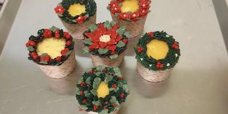 Cupcakes Decorating- Christmas Holiday Theme (Saturday, Nov 16th, 1-3pm) tickets