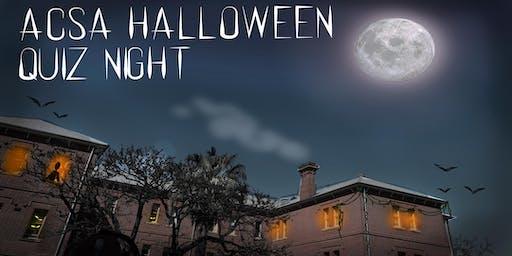 ACSA Halloween Quiz Night