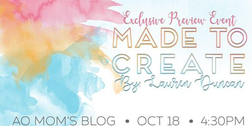 Made to Create : : Exclusive Preview