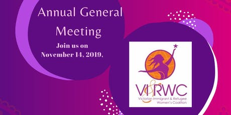 AGM Annual General Meeting VIRWC tickets