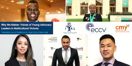Why We Matter: Voices of Young Advocacy Leaders in Multicultural Victoria tickets