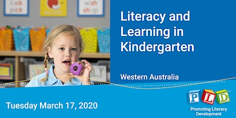 Literacy and Learning in Kindergarten March 2020 tickets