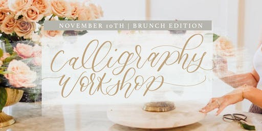 Modern Calligraphy Workshop for Beginners [brunch edition]