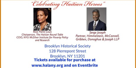 2019 HALANY Awards Luncheon: Celebrating Haitian Heroes tickets