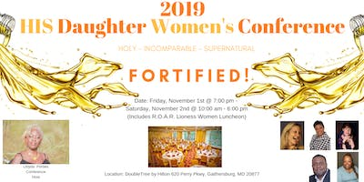 "HIS Daughter Conference 2019... ""Fortified!"""