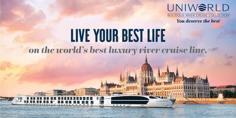 Discover the art of luxury river cruising with Uniworld tickets