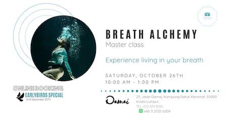 BREATH ALCHEMY  Master class tickets