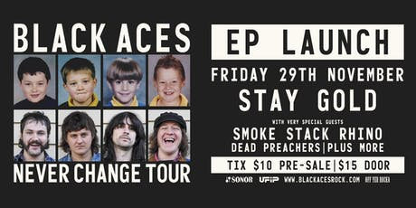 Black Aces – Never Change EP Launch tickets