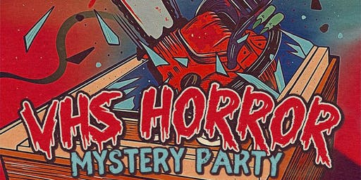 Two Bit Movie Club VHS Horror Mystery Party