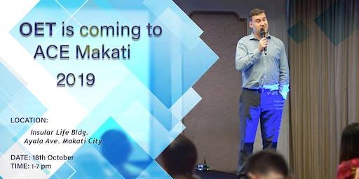 OET Candidate Roadshow at ACE Testing Hub Makati